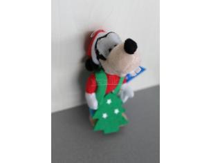GALVAS - Mickey Mouse Pippo Natalizio Peluche 10cm circa si può appendere
