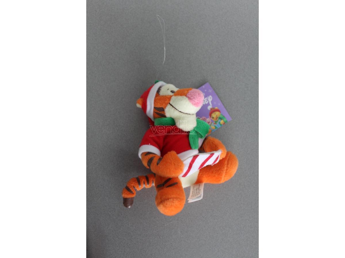 GALVAS - Winnie The Pooh Tigro Natale Peluche 10cm circa si può appendere