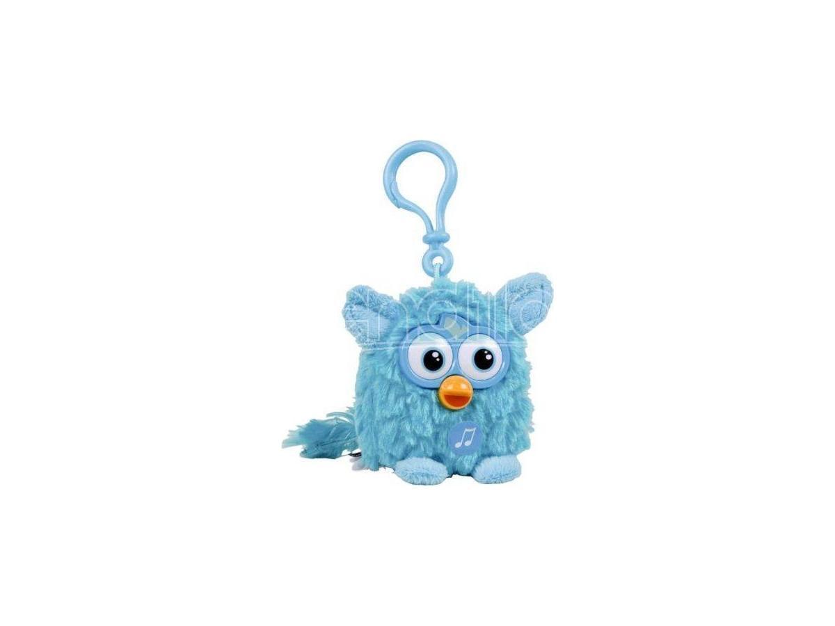 Famosa - Furby Azzurro Portachiavi con suono 8cm