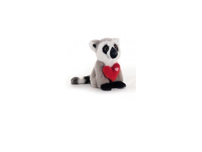 Plush & Company - Peluche 5132 Nice Jungle Procione con cuore 16cm San Valentino