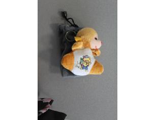 Sacchetto Portacellulare con orsetto marrone peluche