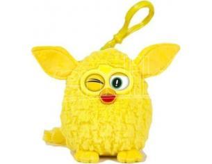 Famosa - Furby Giallo Portachiavi con suono 8cm