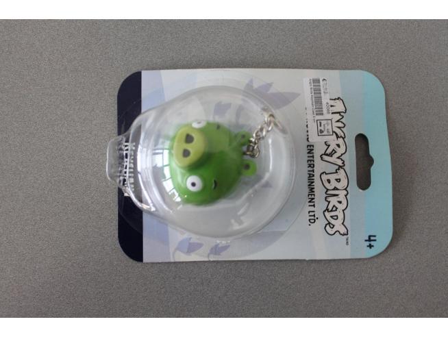 Angry Birds - Portachiavi Uccello Verde 5cm