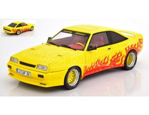 MODELCARGROUP MCG18115 OPEL MANTA B MATTING YELLOW DECORATED 1:18 Modellino