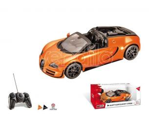 Mondo Motors MM63262OR BUGATTI GRAN SPORT VITESSE ORANGE RADIOCOMANDO 1:14 Modellino