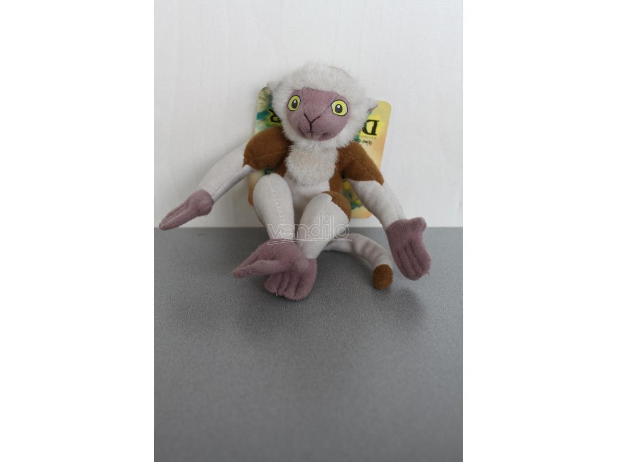Dinosauri - Peluche Portachiavi Scimmia 15cm