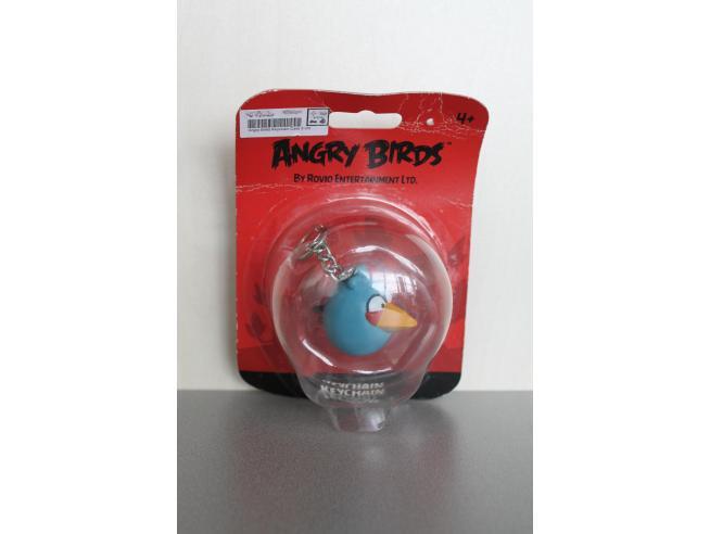 Angry Birds - Portachiavi Uccello Azzurro 5cm SCATOLA ROVINATA