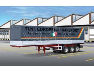 Italeri IT3908 CLASSIC CANVAS TRAILER KIT 1:24 Modellino