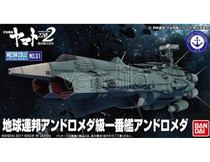 BANDAI MODEL KIT YAMATO 2202 MECHA COLL ANDROMEDA MODEL KIT