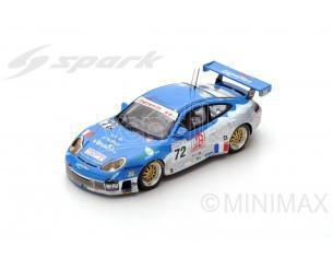 Spark Model S5516 PORSCHE 911 GT3 N.72 24th LM 2002 L.ALPHAND-C.LAVIELLE-O.THEVENIN 1:43 Modellino