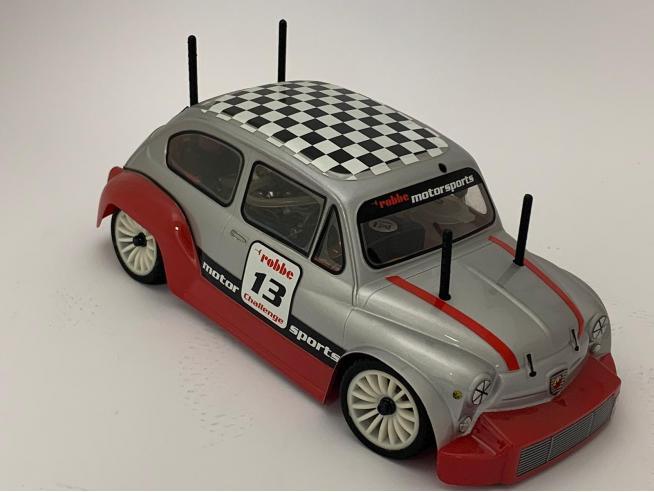 Robbe 2025 Fiat Foca 600 Verbrenner RTR 1:12 4WD Radiocomando