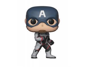 Funko Avengers Endgame POP Movies Vinile Figura Capitan America 9 cm