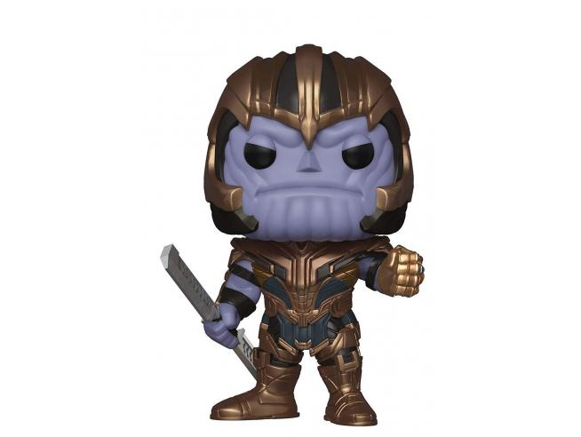 Funko Avengers Endgame POP Movies Vinile Figura Thanos 9 cm