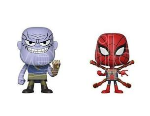 Funko Avengers Infinity War POP Marvel Vinile Figure Thanos & Iron Spider 10 cm