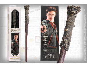Bacchetta Magica PVC Harry Potter 30 cm con Segnalibro Noble Collection