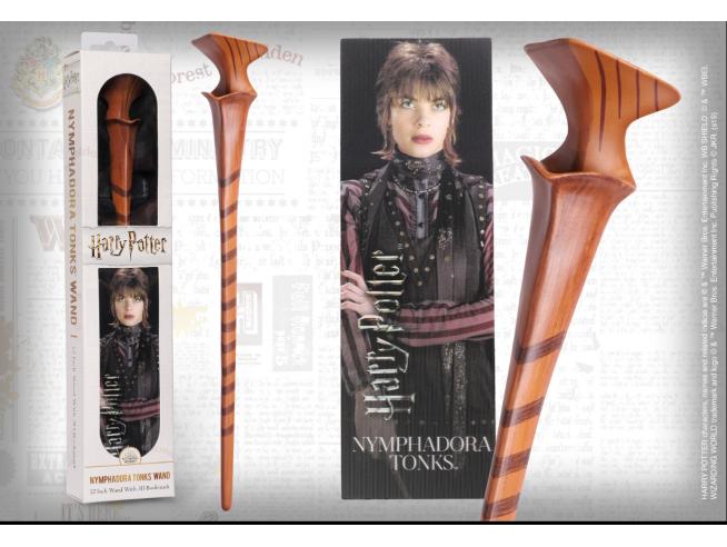 Harry Potter Bacchetta Magica PVC Nymphadora Tonks 30cm Segnalibro Noble