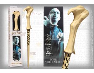 Harry Potter Bacchetta Magica PVC Lord Voldemort 30 cm con Segnalibro Noble Collection