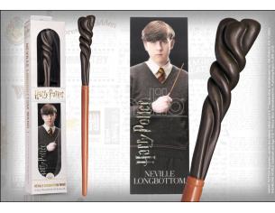 Harry Potter Bacchetta Magica PVC Neville Longbottom 30 cm con Segnalibro Noble Collection