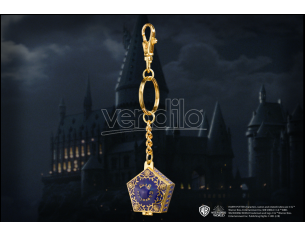 Portachiavi rana di cioccolato Harry Potter 4 cm in metallo Noble Collection