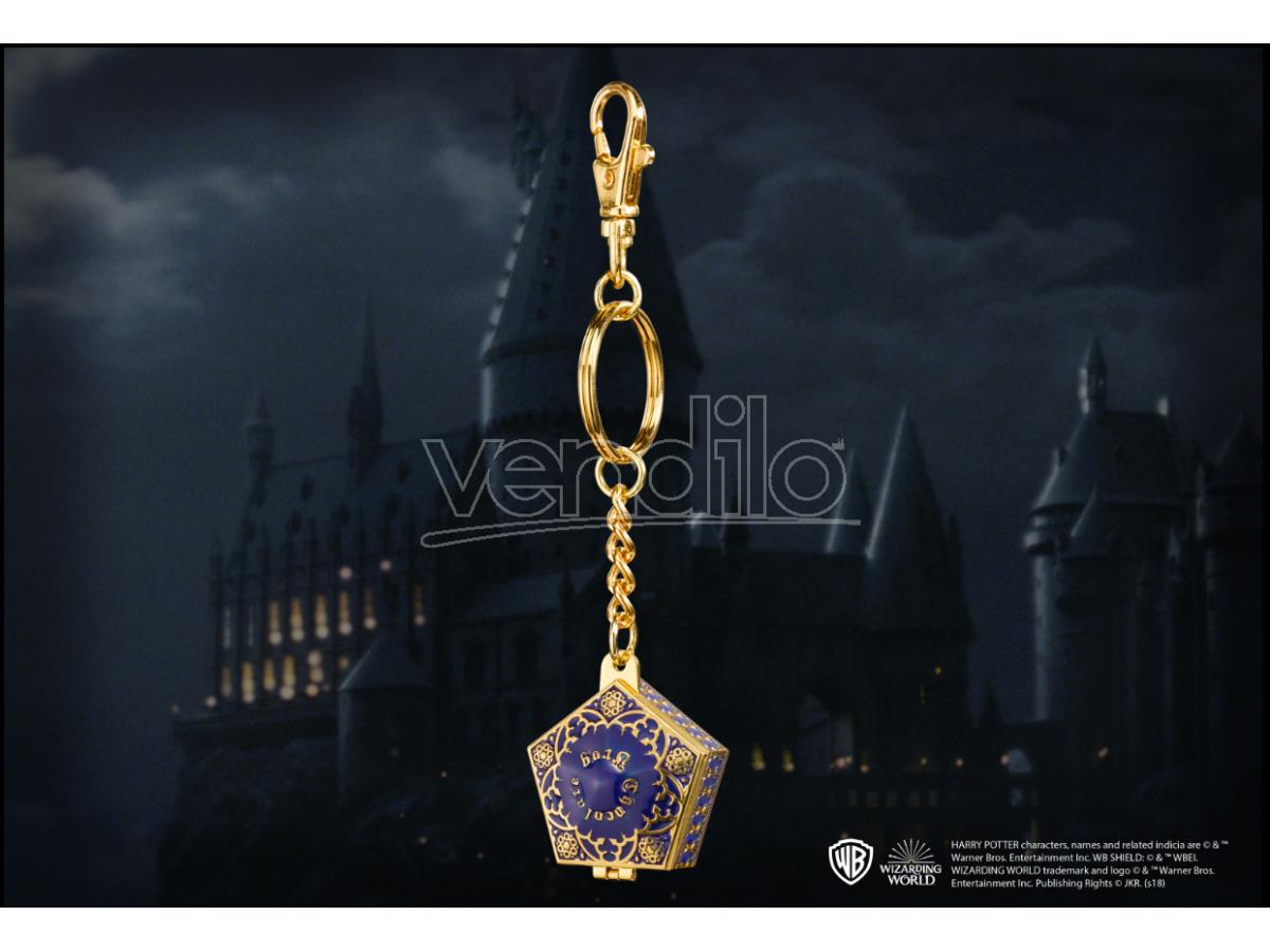 Portachiavi rana di cioccolato Harry Potter 4 cm in metallo Noble Collection