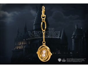 Harry Potter  Portachiavi  Giratempo 4 Cm In Metallo Noble Collection