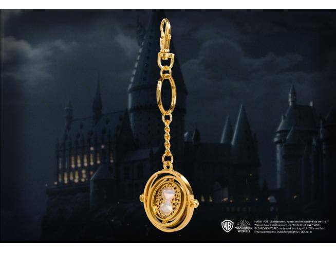 Harry Potter  Portachiavi  Giratempo 4 Cm In Metallo Noble Collection