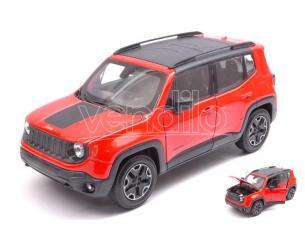 Welly We24071or Jeep Renegade 2015 Arancione/black 1:24-27 Modellino