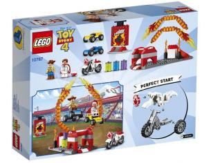 LEGO JUNIORS 10767 - TOY STORY 4: LE ACROBAZIE DI DUKE CABOOM