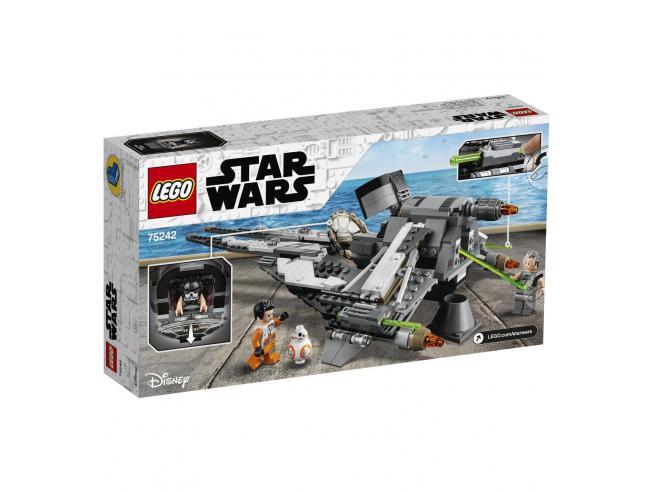 LEGO STAR WARS 75242 - TIE INTERCEPTOR BLACK ACE