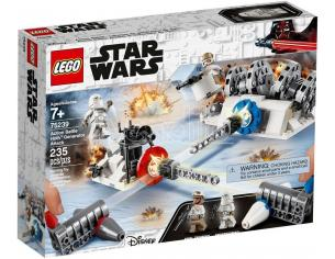 LEGO STAR WARS 75239 ACTION BATTLE ATTACCO AL GENERATORE DI HOTH 20° ANNIVERSARIO