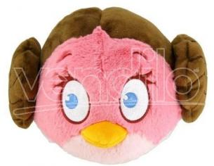 PELUCHE ANGRY BIRDS VERSIONE STAR WARS PRINCIPESSA LEILA 12 CM