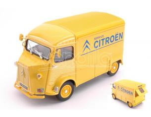 Welly WE24019TDCY CITROEN HY TYPE 1962 CITROEN SERVICE YELLOW 1:24-27 Modellino