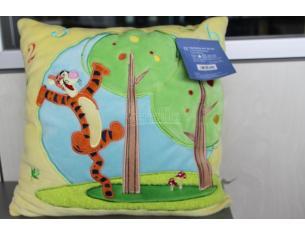 Winnie the Pooh 12322 – Tigro cuscino quadrato giallo 32x32cm