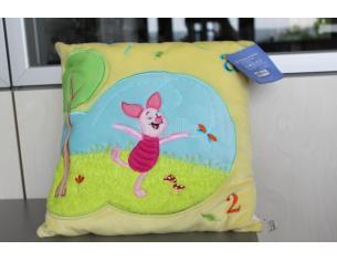 Winnie the Pooh 12320 – Pimpi cuscino quadrato giallo 32x32cm