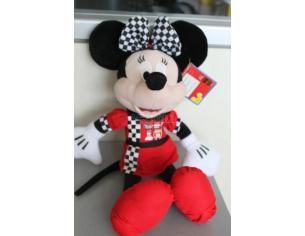 DISNEY MICKEY MOUSE - Peluche Minnie vestita da pilota 35 cm