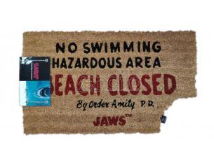 SD TOYS JAWS BEACH CLOSED DOORMAT ZERBINO