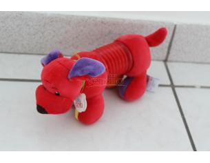 BABY GUND 5789 - Peluche cane rosso allungabile con molla 20cm circa