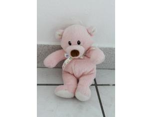GUND  - Peluche Orsetto rosa seduto 15 cm