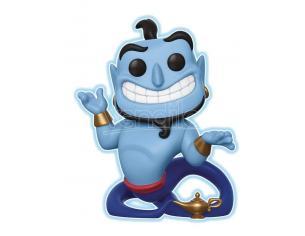 Aladdin Funko POP Disney Vinile Figura Genio con Lampada Luminoso 9 cm Esclusiva
