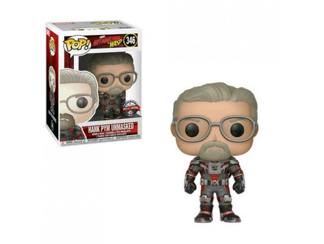 Funko Ant-Man & The Wasp POP Marvel Hank Pym no maschera Edizione Speciale 9cm