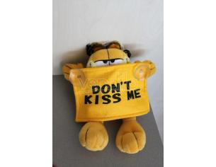 Peluche Garfield con cartello 'Don't Kiss Me' 25 cm Play by Play