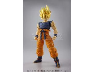 BANDAI MODEL KIT FIGURE RISE SUPER SAIYA-JIN SON GOKU MODEL KIT