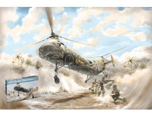 Italeri IT2733 H-21 C SHAWNEE FLYING BANANA KIT 1:48 Modellino