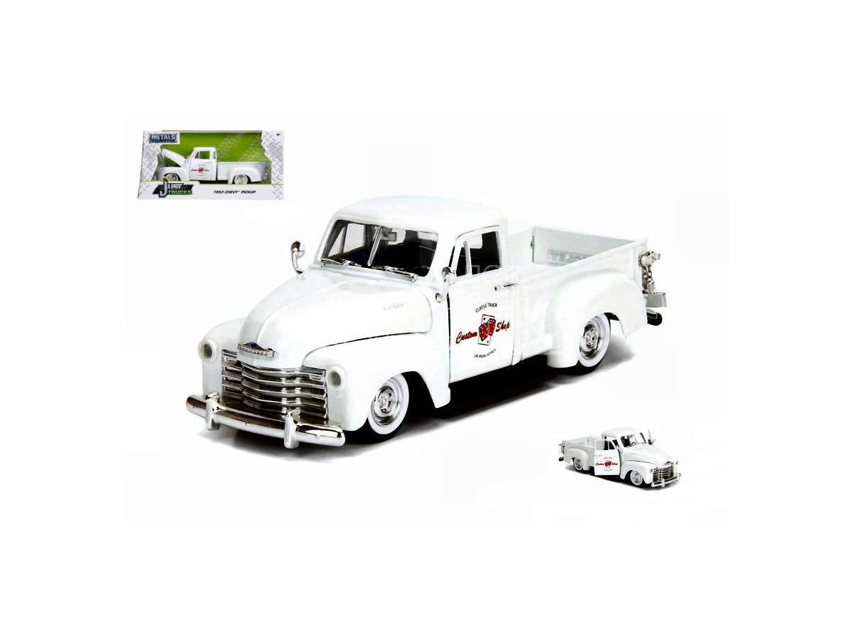 JADA TOYS JADA99177 CHEVY PICK UP 1953 WHITE 1:24 Modellino