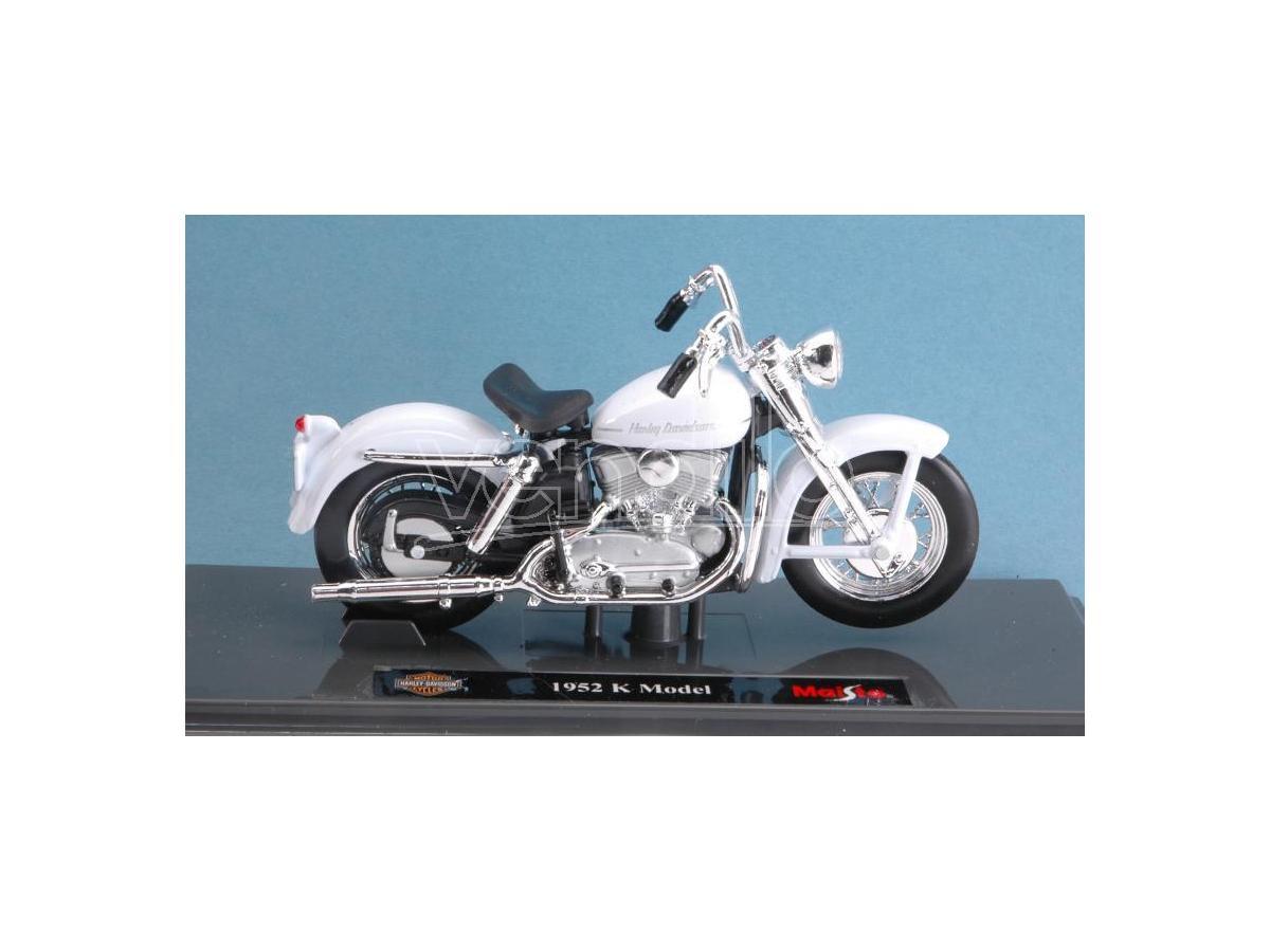 Maisto MI18858 HARLEY DAVIDSON K MODEL 1952 1:18 Modellino