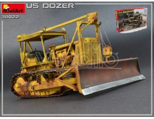 Miniart MIN38022 U.S.BULLDOZER KIT 1:35 Modellino