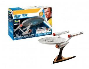 Revell RV00454 USS ENTERPRISE NCC-1701 (STAR TREK) KIT 1:600 Modellino