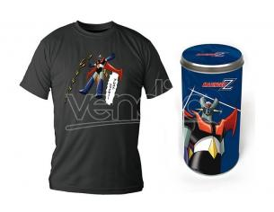 SD TOYS T-SHIRT MAZINGER Z FLYING BLACK BOY DLX TAGLIA M T-SHIRT