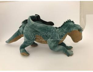 JEMINI - Zainetto Sacca tracolla peluche dinosauro