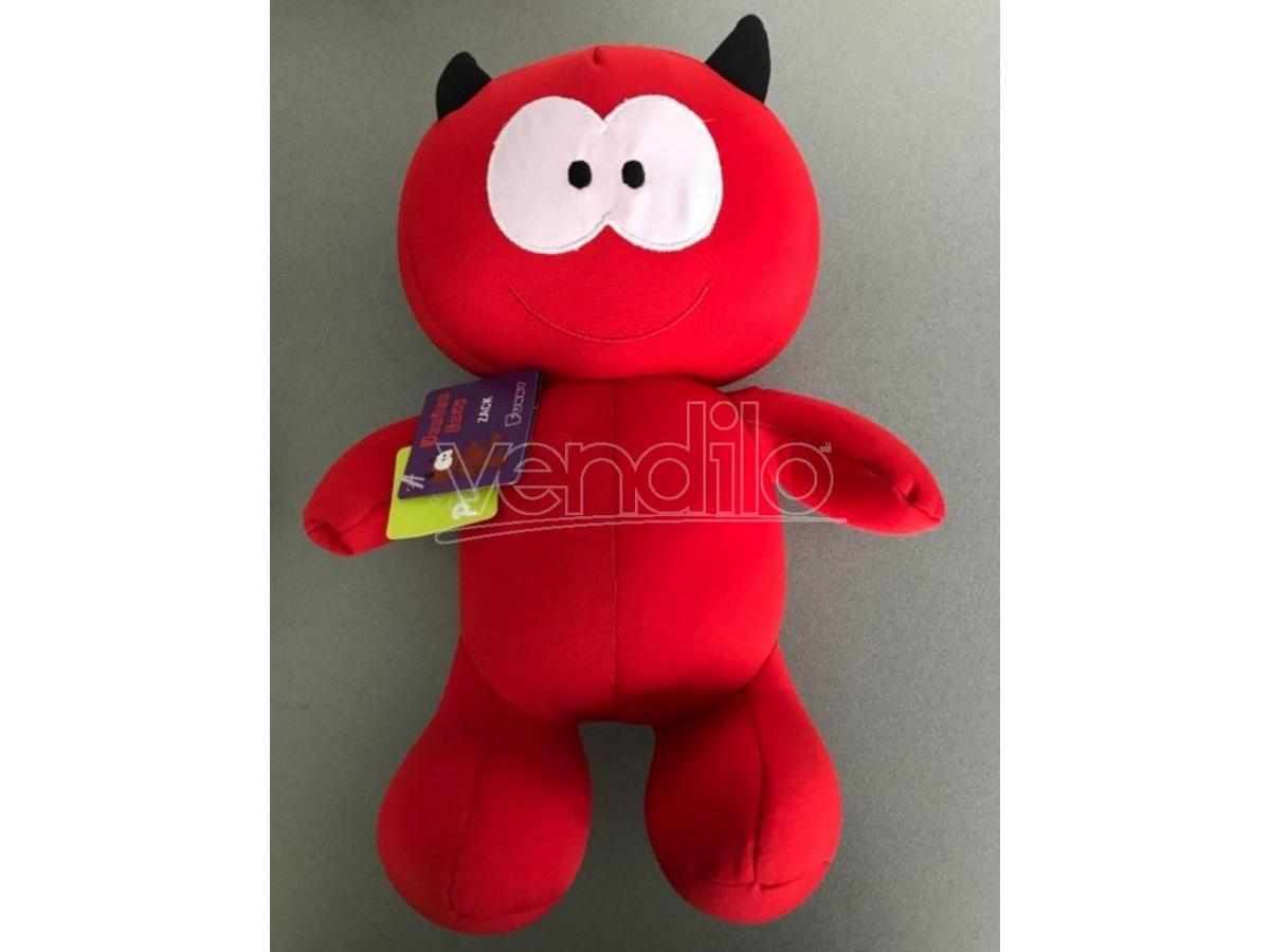 PLAYTIME 46396 - Peluche Voodoo Love Diavolo Zack rosso 30cm